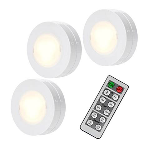 Top 10 Best Wireless Remote Led Puck Lights A