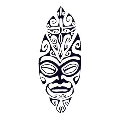 sleeping tiki maori tattoo here my tattoo