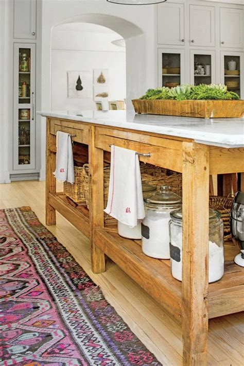 farm table kitchen island best 25 kitchen island table ideas on kitchen