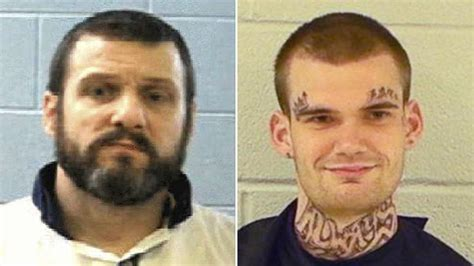 Habersham County Inmate Records Prison Escape 2 Officers Killed 2 Inmates On The Run