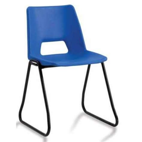 Plastic School Chairs by Plastic Classroom Chairs With Skid Frame