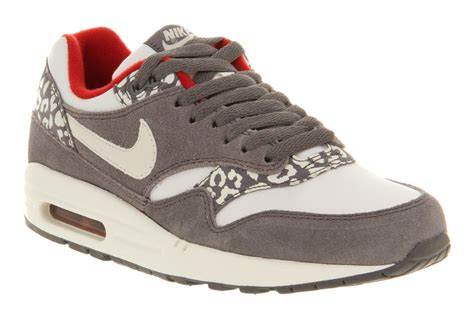 Airmax One Leopard nike air max 1 l white grey snow leopard trainers shoes