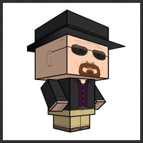 Paper Craft Square - heisenberg papercrafts papercraftsquare