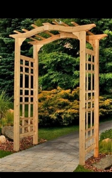 wood trellis plans download plans for wooden arbors plans free
