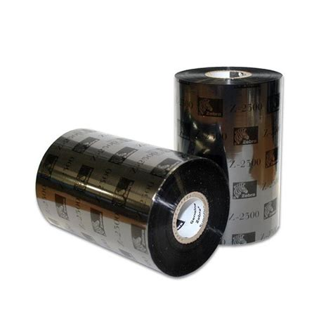 Ribbon Barcode Ssw 110mm X 300m Wax 02300bk11030 zebra 2300 110mm x 300m wax ribbon the barcode warehouse uk