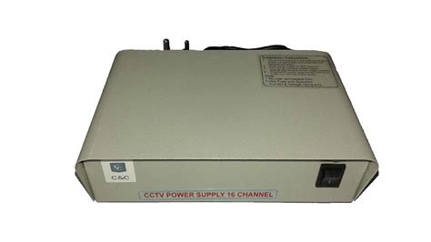 Cctv Power Supply 16 Channel buy 16 channel cctv smps power supply 12 v 20 with 4 years warranty in