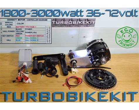 E Bike 3000 Watt by Cyclone Waterproof Geared Electric Bikekit 1800 3000watt