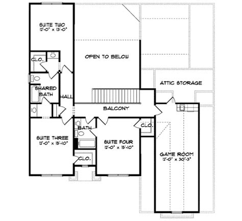game room floor plans ideas huge game room 93031el architectural designs house plans