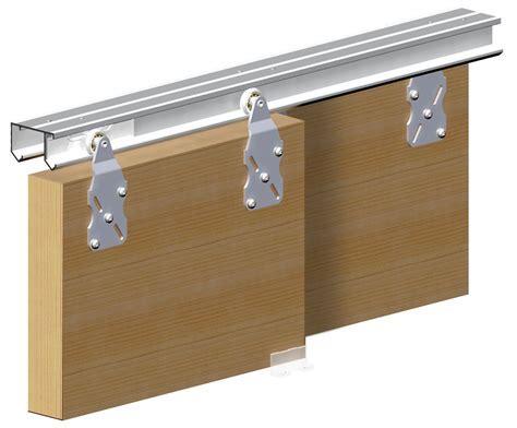 Horus Top Hung Sliding Door System Wardrobe Track Kit
