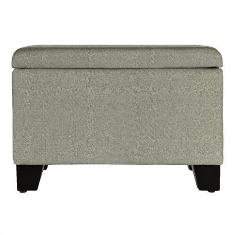 Linen Storage Ottoman Linen Look Storage Ottoman Tree Shops Andthat