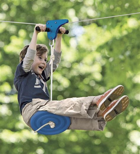 zipline for kids backyard pin by doug lambdin on backyard pinterest