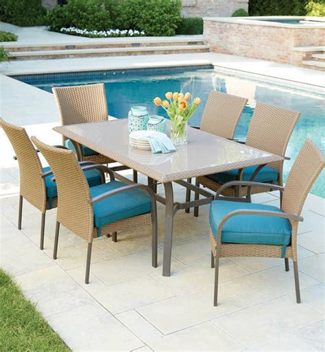 hton bay belleville 7 patio dining set hton bay patio dining set 28 images hton bay fall