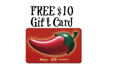 Chili Gift Card - chilis gift card deal free 10 with 50 gift card purchase southern savers
