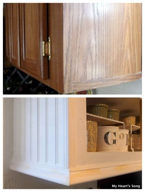my heart s song kitchen makeover phase two beadboard on cabinet home decor pinterest