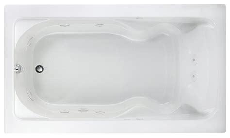 cadet      drop  whirlpool tub  white contemporary bathtubs  plumbingdepot