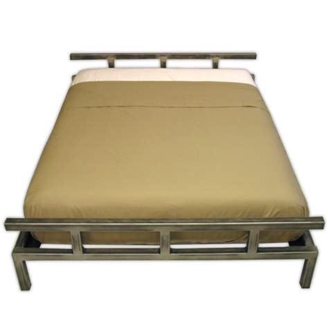 steel bed frame platform steel bed frame boltz steel furniture