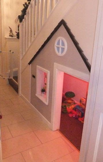 Playhouse Windows And Doors Ideas Kid Playhouse Basement Stairs Door Mail Slot And Even A Window And Front Porch