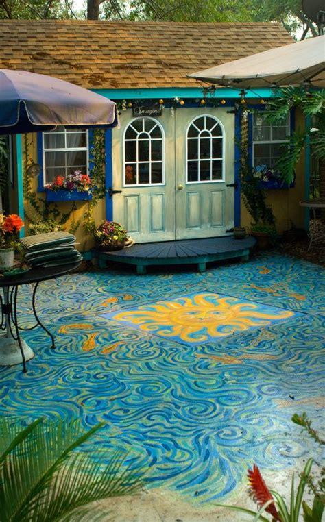 backyard art studio backyard art studio and painted cement for the home