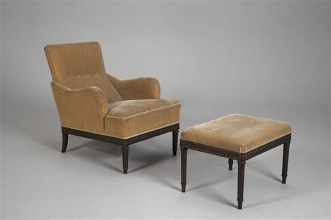 Armchair And Stool by Jacksons Armchair And Stool Carl Malmsten