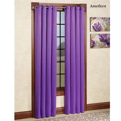 blackout grommet curtains carnivale heavyweight blackout grommet curtain panels