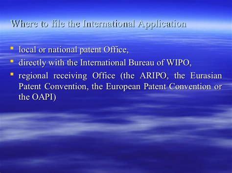 wipo international bureau pct 111007074548 phpapp01