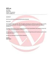 confirmation sample letter format download letter format
