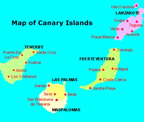 canary islands map map of morocco and canary islands spain pictures to pin on pinsdaddy
