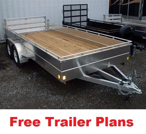 car trailer plans utility build it yourself pictures