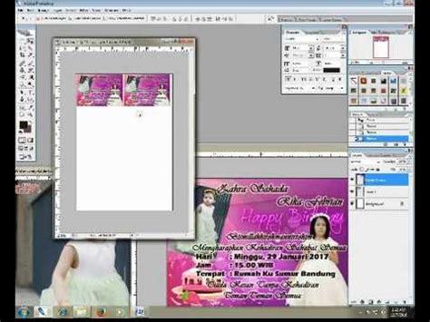 tutorial membuat undangan ulang tahun dengan photoshop cara membuat surat undangan ulang tahun sederhana dengan