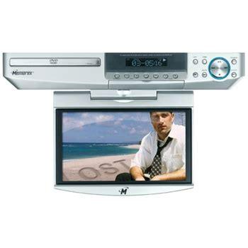 under cabinet kitchen tv dvd combo memorex mvuc821 8 quot under cabinet tv dvd combo ebay