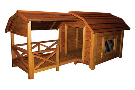 dog barn wooden outdoor comfort barn pet dog house with porch roof