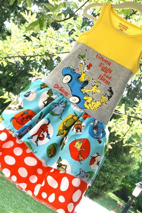 Ac184 8 Ready Blue And Yellow upcycled tshirt dress size 6 7 8 ready to