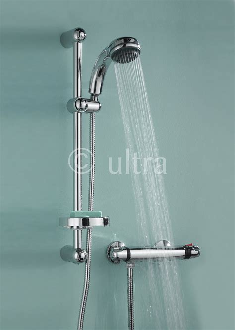 Shower With Slide Bar by Ultra Reef Thermostatic Bar Shower With Slide Rail Kit A3900