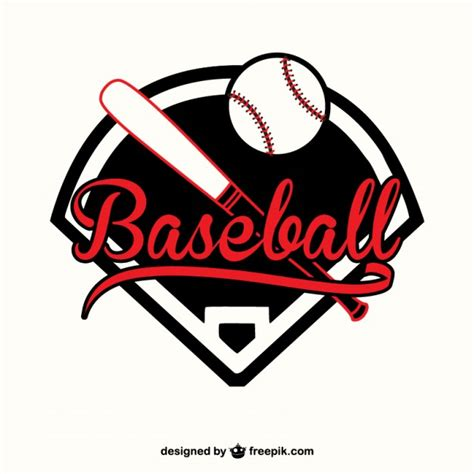 baseball logo template baseball vector template