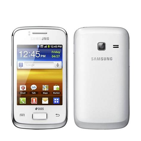 samsung y duos new samsung galaxy y duos s6102 white wifi android touchscreen dual sim gsm 3g ebay