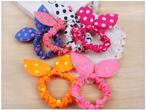 Ikat Rambut Jrk Flowers Hair Bands 10pcs charm bow knot elastic hair band hair rope scrunchie ponytail holder ebay