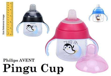 Gelas Spout Baby philips avent spout cup pingu asibayi