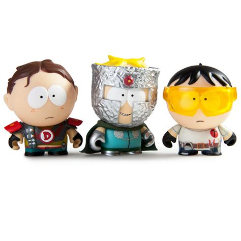 south park the fractured but whole 3 blind box kidrobot fractured but whole figures the awesomer