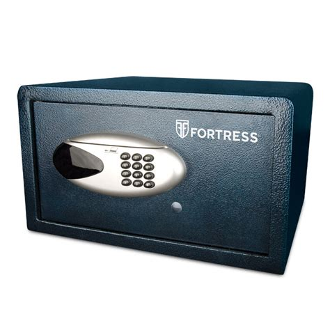 fortress h80es alarming home security safe with card