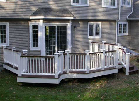 Banister Home Depot Connecticut Ct Deck Building Contractor