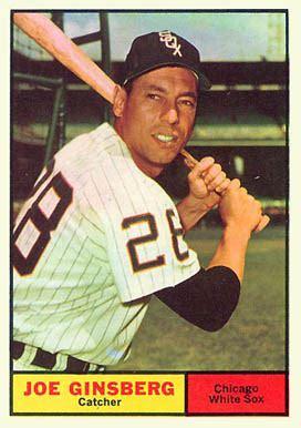 joe ginsberg 1961 topps joe ginsberg 79 baseball card value price guide