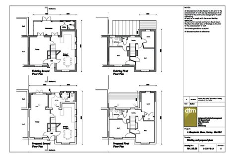 house plan drawings design and technical management architectural services