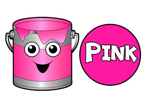 pink color song colors shapes learning is at busybeavers