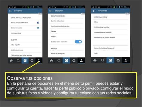 tutorial uso instagram tutorial de instagram