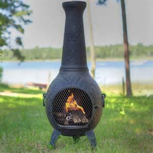 Chimineas Direct Blue Rooster Butterfly Style Chiminea Antique Green