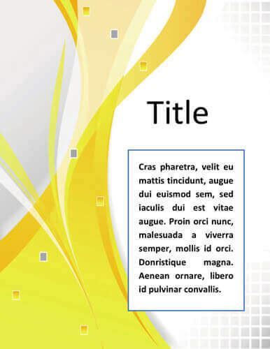 word cover page template 17 creative cover pages designs for microsoft word