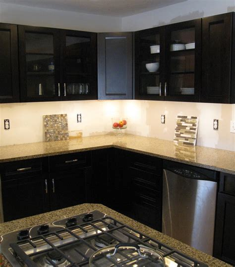 lights in kitchen cabinets high power led under cabinet lighting diy great looking