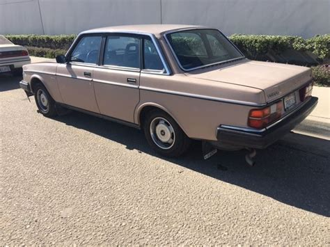 1985 Volvo 240 Dl 1985 Volvo 240 Dl Runs Great Clean California Title For
