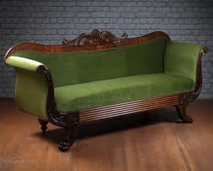 mahogany sofa antique large regency mahogany sofa c 1815 antiques atlas