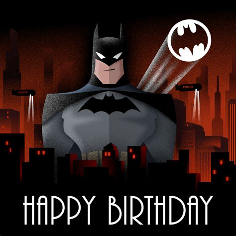 Batman Birthday Card Batman Birthday Card By Scara1984 On Deviantart